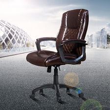 Kinbor Modern Office Executive Chair Computer Desk Task PU Leather Mid-Back
