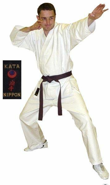 Karateanzug  Karate-gi   Kata  14oz  weiß weiß weiß f11731