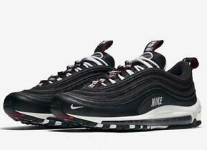 935ed9f957845 NIKE AIR MAX 97 PREMIUM 312834 008 BLACK WHITE VARSITY RED