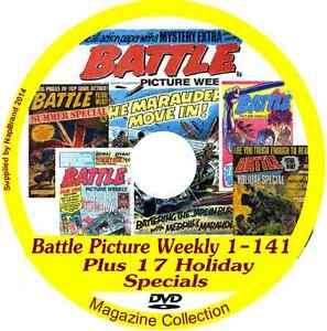 Battle-Picture-Weekly-1-141-on-DVD-plus-17-specials-includes-viewing-software