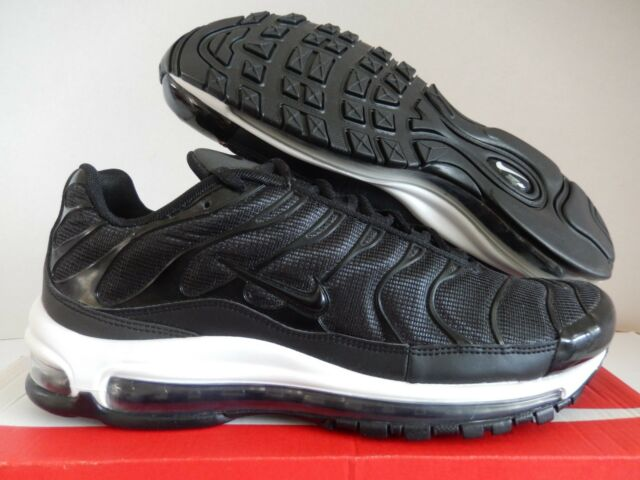 NIKE AIR MAX 97 PLUS AIR MAX PLUS AIR MAX 97 BLACK WHITE SZ 13 [AH8144 001]