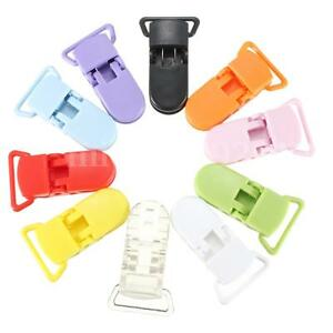 10Pcs-Baby-Kids-T-shape-Plastic-Pacifier-Clips-Soother-Dummy-Style-Badge