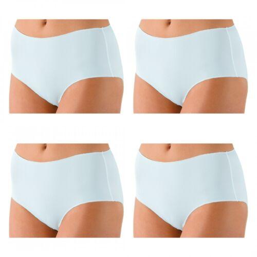 4 x Nina von C Damen Basic Short Pant Boxer Unterhose Sport Farben zur Auswahl