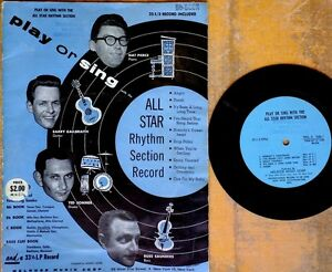 PLAY-OR-SING-with-the-ALL-STAR-RHYTHM-SECTION-RECORD-sheet-music-amp-EP-MELROSE