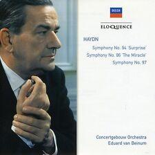 Eduard Van Beinum - Haydn: Sym Nos 94 / 96 & 97 [New CD]