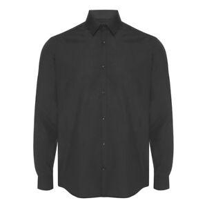 UK Mens Plain Short Sleeve Slim Shirts Causal Smart Work Button Down Tops Blouse