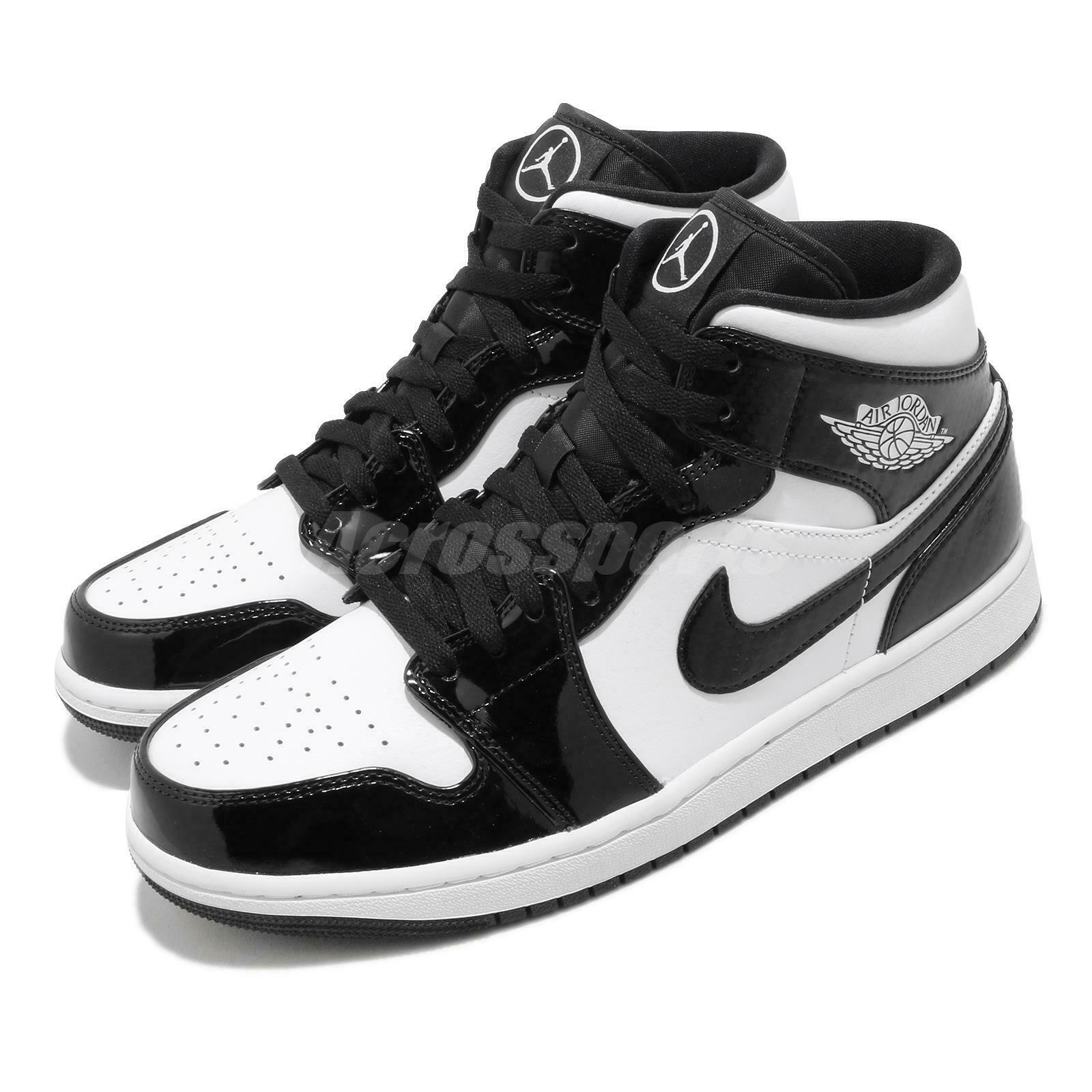 Nike Air Jordan 1 Mid SE ASW AJ1 All Star 2021 Black White Men ...
