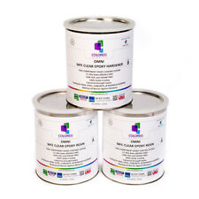 Clear Epoxy Resin Solids High Gloss For Plywoodconcretebasements3gal Kit