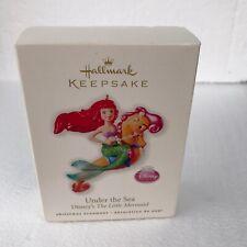 NEW NIB Hallmark Keepsake Under The SeaThe Little Mermaid Ornament 2010 Ariel