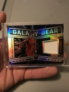 Cristiano Ronaldo Game Used Jersey Patch #80/99 Portugal Real Madrid Panini