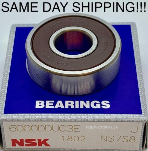 NSK 6000 DDUC3  Deep Groove Radial Ball Bearing 10x26x8mm 6000 RS 6000 2-RS