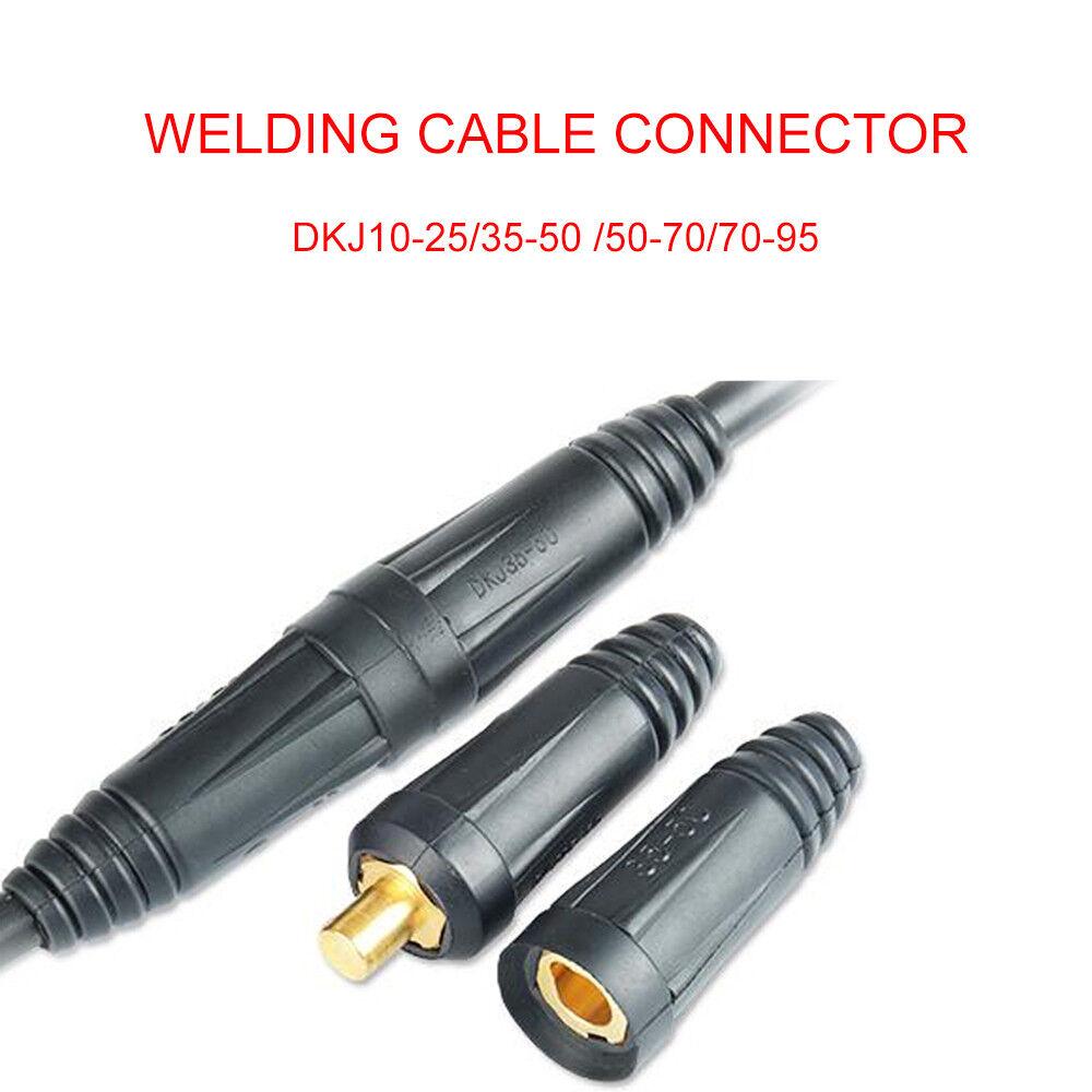 Cable Socket Female Dinze Dinse Type Welding Connectors 35-50