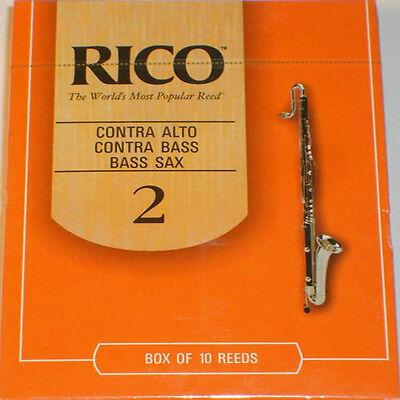 Rico RFA1020 Contra A//B Clarinet or Bass Sax Box of 10 #2