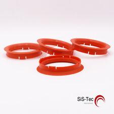 4 x anilla anillo distanciador llantas de aluminio 74,1 x 66,2 mm CMS DBV ProLine fz01