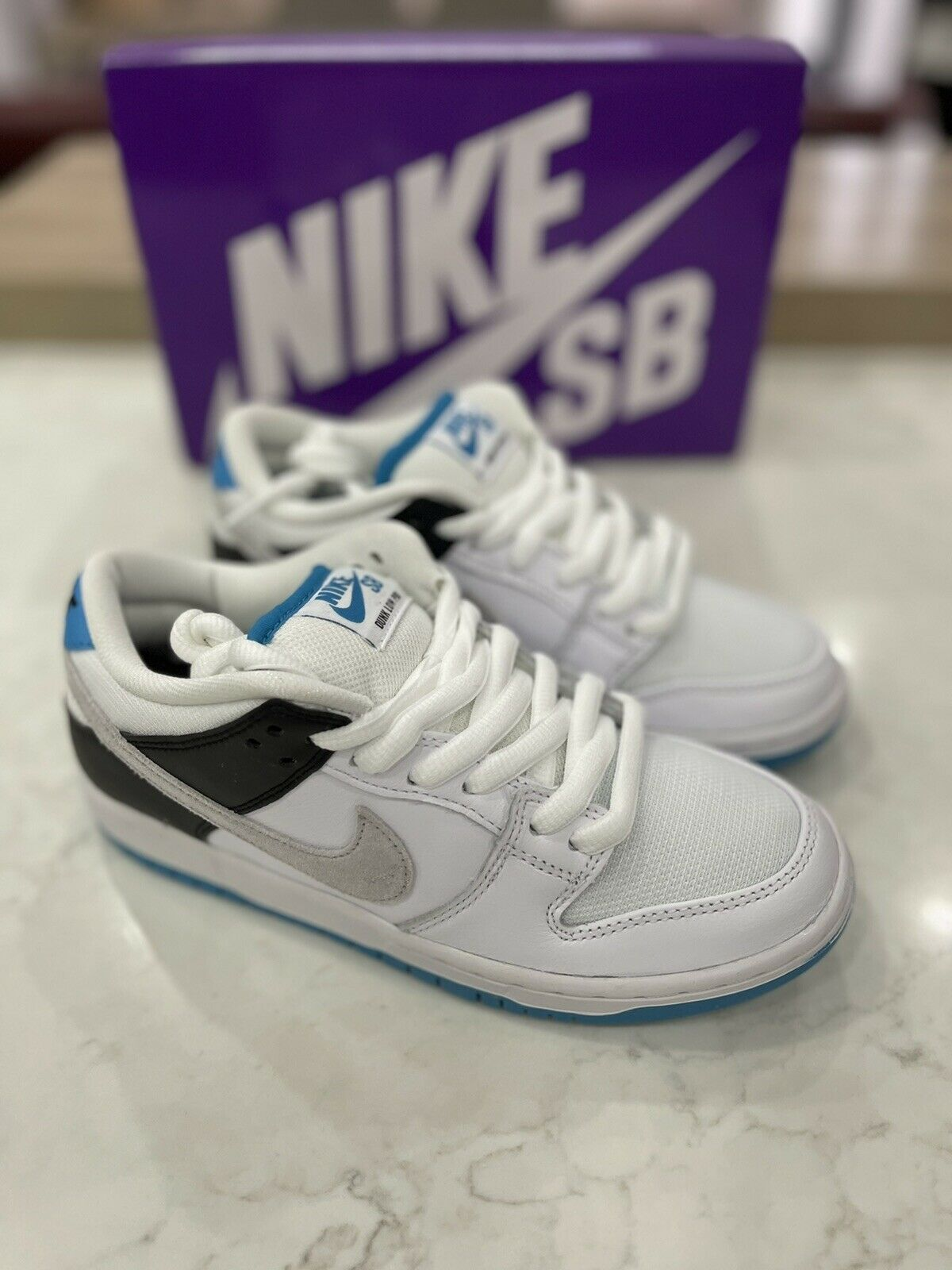 Nike SB Dunk Low Laser Blue - UK4/US4.5