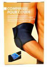 Body Coach Hot & Cold Soothing Compress Elbow Support Adjustable Neoprene Brace
