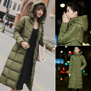 1cf86ad6a58ed Winter Coat Women s Long Jacket Thickened Parka Warm Down Jacket ...