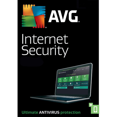 Download Avg Internet Security & Antivirus 2019 3 Devices 2 Years Retail License