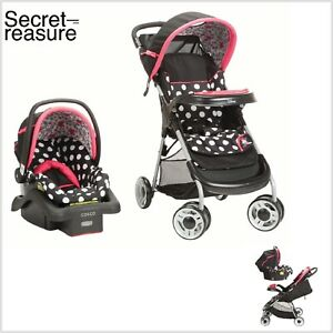 Travel System For Girls Lightweight Infant Car Seat Set ...