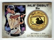 Buster Posey 2016 Topps MLB DEBUT Commemorative Coin card-GIANTS Catcher