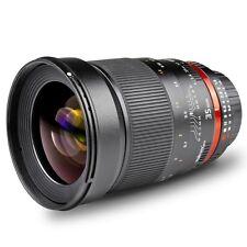 walimex pro 35mm 35 mm 1:1,4 Objektiv für Minolta A / Sony alpha Serie