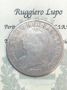 Savoy-Royaume-de-Sardaigne-Carlo-Emanuele-III-Demi-1-2-Bouclier-1758-RAR
