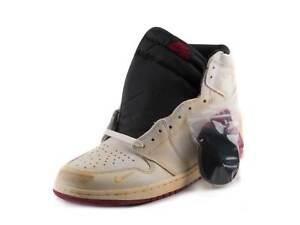 ea88e330f46 Nike Mens Air Jordan 1 High OG NRG Nigel Sylvester Sail/Wht BV1803 ...