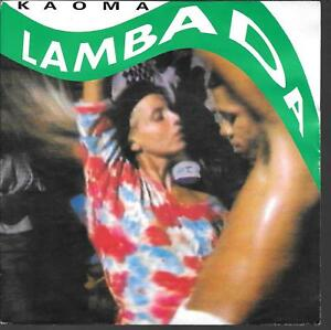 45-TOURS-7-034-SINGLE-KAOMA-LAMBADA-INSTRUMENTAL-1989