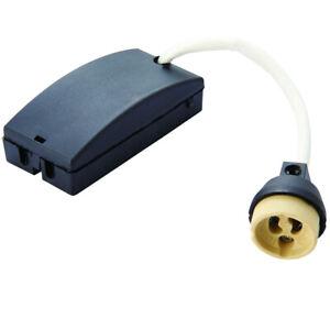 Fast-Fix-GU10-ampoule-titulaire-Cable-amp-box-DEL-Downlight-Lampe-de-plafond-Connecteur