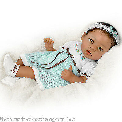 """Ashton-Drake So Truly Real """"Alicia's Gentle Touch"""" Interactive Baby Doll"""