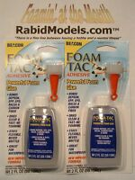 Australia Deal - Beacon Foam-tac Craft Glue - Two 2oz Bottles Foam Safe, Flexy