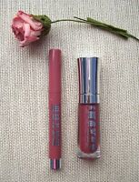 Buxom Big & Healthy Lip Stick Bombay & Lip Polish Michelle Almost 1/2 Sizes