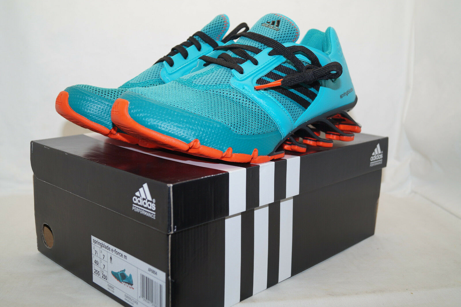 Adidas springblade Corriendo e-force m eu.40 2/3 Corriendo springblade Nuevo turquesa af6804 62f4e0