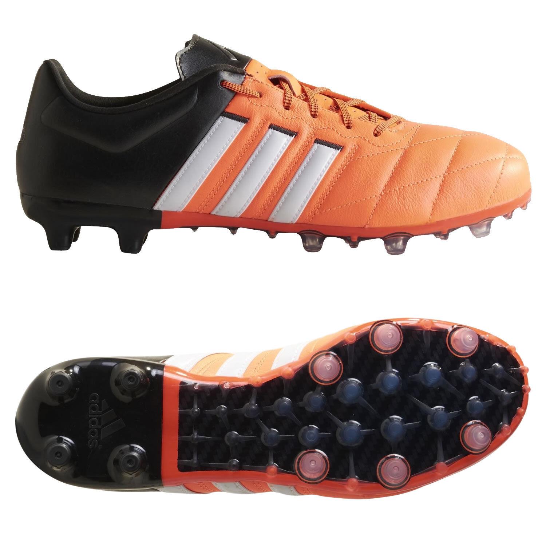 Adidas MEN'S SIZE ACE 15.2 FG AG FOOTBALL BOOTS orange SOCCER RRP