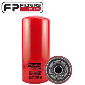 f073c22a B7299-TX Baldwin Oil Filter - Caterpillar C10 C11 C12 C13 C15 C16 C7 ...