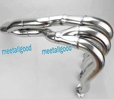 New Exhaust Downpipes Headers Pipe For SUZUKI 2008-2010 GSXR 600 750 08 09 10