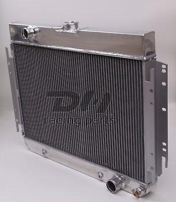 4 Row Aluminum Radiator for 63-68 Chevrolet Chevelle//Chevy Malibu//Implala