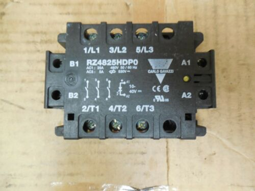 Carlo Gavazzi Solid State Relay RZ4825HDP0 25 A Amp 480//530 Volt Used