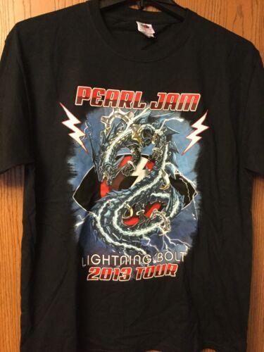 Pearl Jam - 2013 Tour Black Shirt.  L.