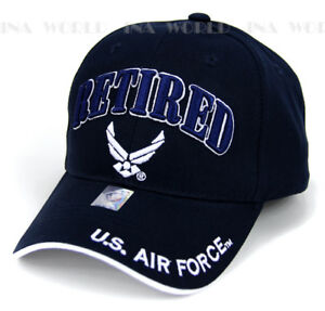 U.S. AIR FORCE hat RETIRED USAF Logo Military Licensed Baseball cap ... 9c600f8f8638