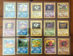 1999-Pokemon-Fossil-Booster-Pack-Sealed-MINT-RARE-HOLO-15-Total