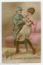 WW1. POILU .Patriotique.  Erotique . Prostituée . Call girl . Erotic . Patriotic