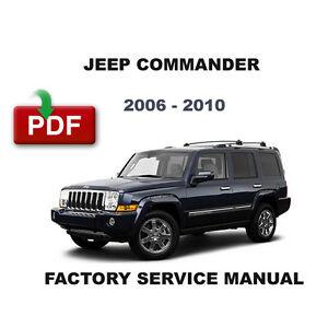 2006 jeep commander xk service manual / factory repair manual.