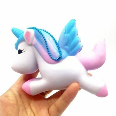 Squishy Jumbo Slow Rising Unicorn Kawaii Scented Squishies Soft Charms Pendant
