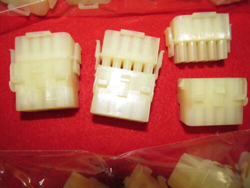 Lot of 50 pairs Male /& Female TE AMP Universal Mate-N-Lok 15 Pin 1-480710-0,