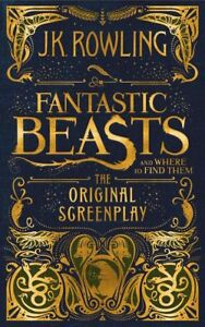 NEW-Fantastic-Beasts-and-Where-to-Find-Them-The-Original-Screenplay-Hardcover