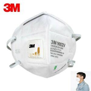 2 PCS 3M 9002V Cool Flow Respirator with Valve