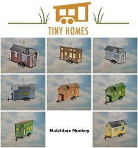 Details about Tiny Home House Trailer Custom Christmas Ornament Mini Small  Life Adorno Casa