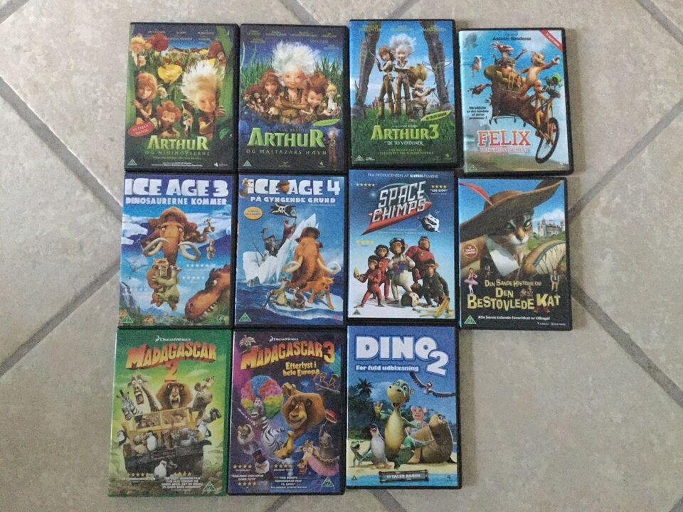 DVD, tegnefilm