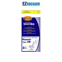 Hoover Sr Canister Vacuum Bags 401011sr, Duros, Maytag - 3 Bags